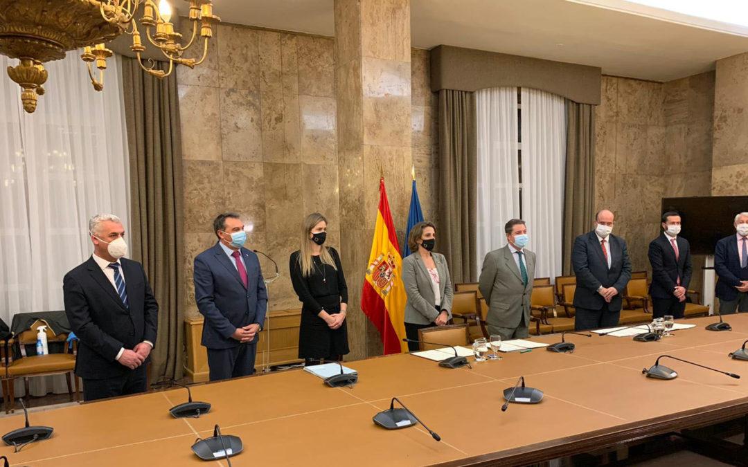AMAC firma un protocolo con el Ministerio de Transición Ecológica para el desarrollo de un Convenio de Transición Justa en la comarca de Zorita